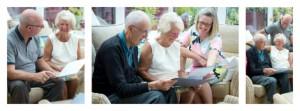 Lynn Osborne of Clarity Care Consulting Collage - Lynn Osborne Helping Elderly Couple find Care