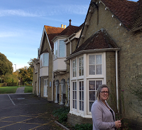 Lynn Osborne of Clarity Care Consulting Visits A Care Home on the Isle of Wight