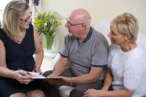 Finding a care home for an elderly relative