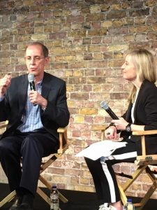 Dan Cohen and Fiona Phillips discuss Music and Memory at the Covent Garden Apple Store