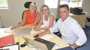 The Clarity Care Consulting Team - Lynn Osborne, Dave James and Emma Lindsay