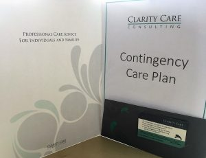 Picture of Clarity Care Consulting Contingency Plan