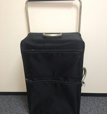 Clarity Care Consulting Suitcase used for hospital discharges and moving people to care homes