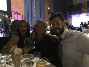 Nightingales Golden Care at the Hampshire Care Awards