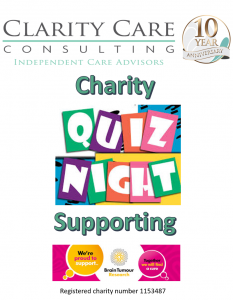 Clarity Care Consulting Quiz Night