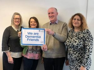 Lynn Osborne - Soraiya Humby - Kate Slade of Clarity Care Consulting Are Dementia Friends