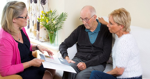 Clarity Care Consulting Independent Care Advisor talking with client